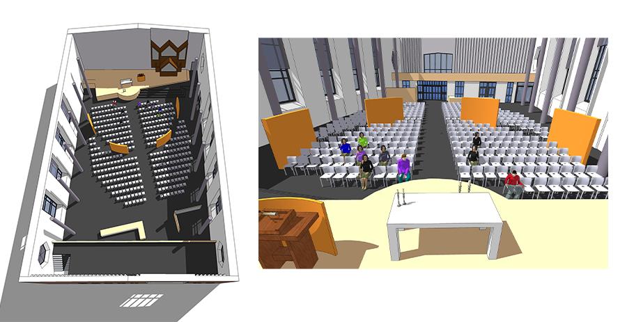 Verbouwing kerk Emmeloord